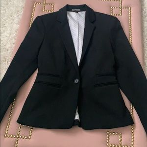 Express Black Blazer (Suit Jacket)